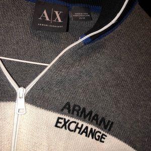 AX ARMANI EXCHANGE ZIP UP HOODIE/ Jacket